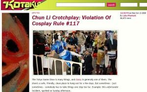 Chun Li Vagina Shot