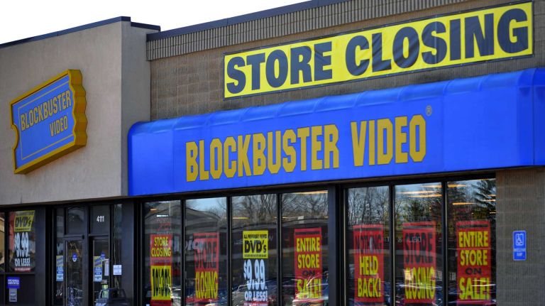 Blockbuster Video before the end