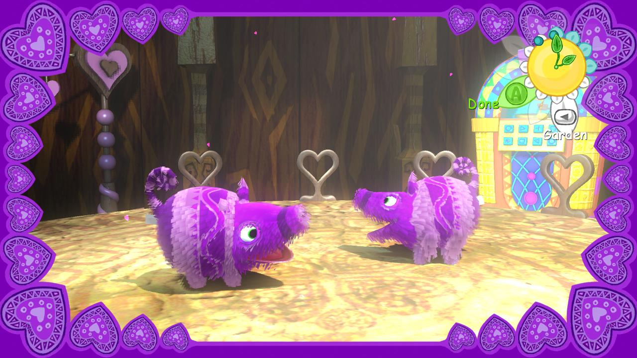 Viva Pinata screenshot - romance sequence