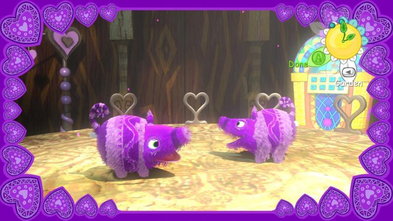 Viva Pinata screenshot - romance sequence