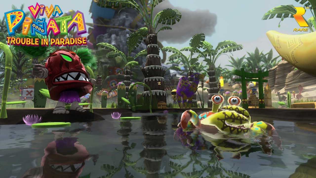 Viva Pinata: Trouble in Paradise - gameplay screenshot